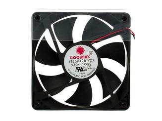 Coolmax 1225H12B 120x25mm Pwer Supply Replacement Fan, 2Pin