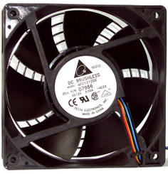 Delta AFB1212SH-PWM 120x25mm PWM+TAC Sensor Extreme Hi Fan, 4Pin PWM