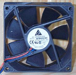 Delta AFB0924H-F00 24V DC 92x25.4mm Fan, 3Pin, RPM Sensor