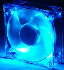 Enermax TC-12CAS-BL 120mm Blue 4 LED Fan w/ Speed Control