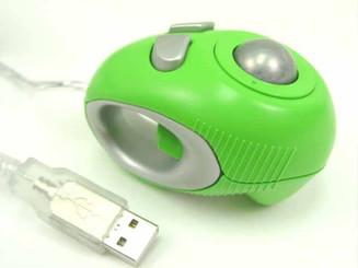 Off-Table Track Finger Mouse , Green, USB