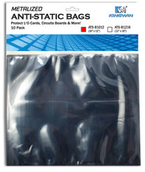Kingwin ATS-B1012 ANTI-STATIC BAG  10inx12in, 10pcs/bag,For VGA Card