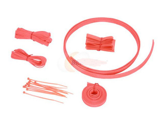 Okgear UV Orange Cable Sleeving Kit
