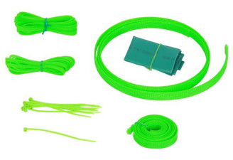 Okgear UV Green Cable Sleeving Kit