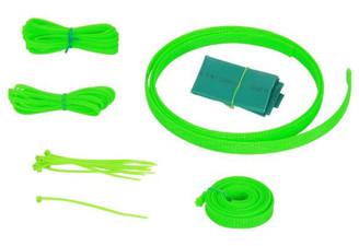 Okgear UV Green Cable Sleeving Kit