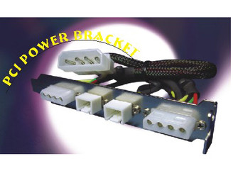O302 (AOC) PCI Power Bracket (2 x 4Pin 2X3pin connectors)