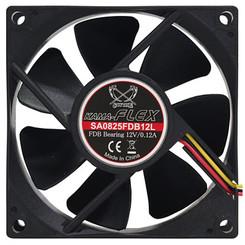 Scythe SA0825FDB12L 2000RPM Kama Flex  80mm Silent Case Fan