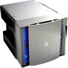 Silverstone CFP51S Aluminum 5.25inch to 3.5inch Bay converter w/ 120mm Fan, Silver