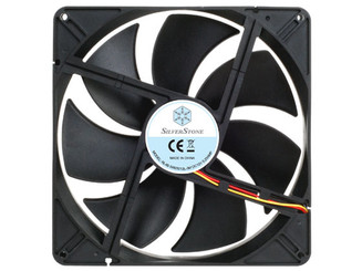 Silverstone FN181 180x180x32mm Black Fan