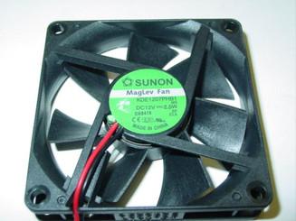 Sunon KDE1207PHB1 70x15mm MAGLev Fan, 4pin