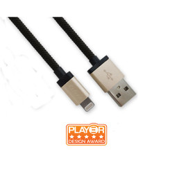 Luxa2 PO-APP-ALL1CP-00 MFi Lightning¢â to USB Charge Sync Aluminium Cable
