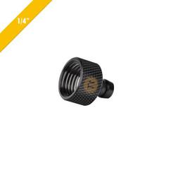 Thermaltake CL-W036-CU00BL-A Pacific 1/4inch (6.35 mm) Fill-port – Black
