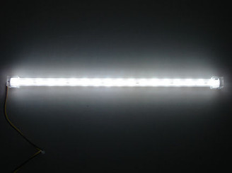 Logisys 12inch 18 WHITE LED Super Bright Sunlight Stick (WHITE)