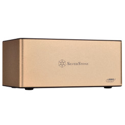 Silverstone SST-TS11G-C 3.5/2.5inch SATA SSD/HDD USB3.1 Gen2 10Gb/s Docking Station