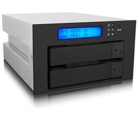 RAIDON iR2620-2S-S2 InTANK Dual 5.25inch Bay 3.5inch HDD RAID Module