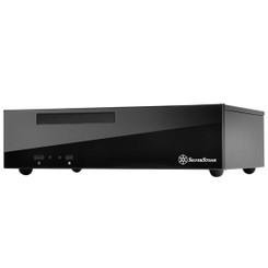 Silverstone SST-ML09B (Black) Mini-ITX,Mini-DTX SFX Mini Compact HTPC Case