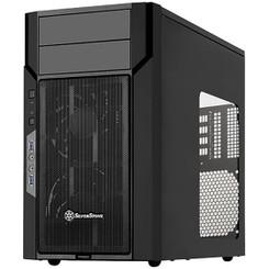 Silverstone SST-KL06B-W (Black + Window) Micro-ATX/Mini-DTX/Mini-ITX Kublai Case