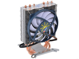 Titan TTC-NC85TZ(RB) 95mm Z-AXIS Dragonfly 3 Universal Heatpipe Extreme Slim Cooler