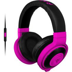 Razer RZ04-01400500-R3U1 Kraken Analog Gamng Headset Neon Purple