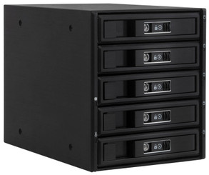 Kingwin KM-5000 5 x SATA HDD to 3 X 5.25inch Bay Mobile Rack