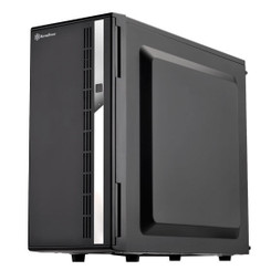 Silverstone SST-CS380B Mid Tower 8-Bay 3.5/2.5inch SAS/SATA Drives Case