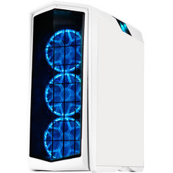 Silverstone SST-PM01W-RGB (white + RGB LED + window) 140MM RGB LED Fan ATX Case