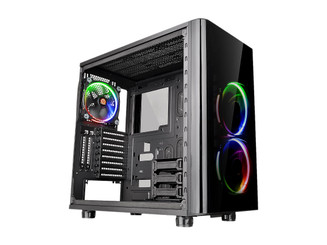 Thermaltake CA-1H8-00M1WN-01 View 31 Tempered Glass RGB Edition Mid Tower Chassis