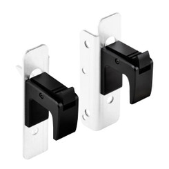 Silverstone SST-RA03B Auto Lock Handle for 2U Rackmount Chassis (Pair)