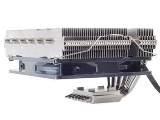 Silverstone SST-NT06-PRO-V2 (AM4) Copper Base/Aluminum Heatpipe SFF CPU Cooler