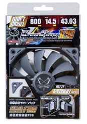 Scythe SU1225FD12L-RD (800RPM) Kaze Flex 120 120x120x27mm Case Fan