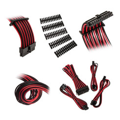 Bitfenix BFX-ALC-EXTKR-RP Alchemy 2.0 Extension Cable Kit - Black/Red