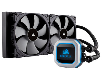 Corsair CW-9060032-WW H115i PRO RGB 280mm Radiator Liquid CPU Cooler