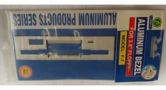 Lian-Li F-7 Aluminum Floppy Drive Bezel, Silver