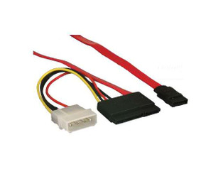 EC-CBL-571500 SATA Data, 4pin Molex with 15Pin SATA Power Cable
