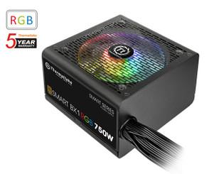 Thermaltake  PS-SPR-0750NHFABU-1 Smart BX1 RGB 750W ATX Power Supply