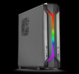 Silverstone SST-RVZ03B-ARGB Mini-ITX/Mini-DTX Slim Desktop/HTPC Case