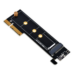 Silverstone SST-ECM25  1 x M.2 (M Key) to PCI-E x4 Convert 1U Adapter Card