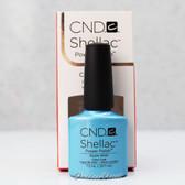 CND Shellac UV Gel Polish - AZURE WISH 09855 7.3ml 0.25oz Spring Color 2013 Collection
