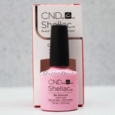 CND Shellac UV Gel Polish - BE DEMURE 91173 7.3ml 0.25oz Flirtation Summer Color 2016 Collection