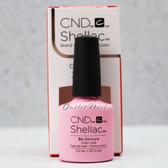 CND Shellac UV Gel Polish - BE DEMURE 91173 7.3ml 0.25oz Flirtation Summer Color 2016 Collection