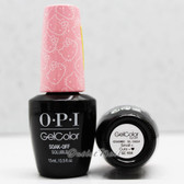 OPI GelColor SMALL + CUTE = HEART  GC H84 15ml 0.5oz Hello Kitty Collection UV LED Gel Nail Polish #GCH84