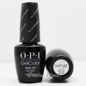 "OPI GelColor ""LIV"" IN THE GRAY  GC W66 15ml 0.5oz Washington DC Collection UV LED Gel Nail Polish #GCW66"