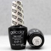 OPI GelColor MATTE TOP COAT  GC 031 15ml 0.5oz Soak Off UV LED Gel Nail Polish #GC031