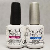 GELISH HARMONY Soak Off Kit Duo 2pc - Foundation Base Coat + Top It Off SET