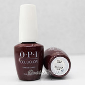 OPI GelColor COMO SE LLAMA? GC P40 15ml 0.5oz PERU Fall Winter PERÚ 2018 Collection UV LED Gel Nail Polish #GCP40