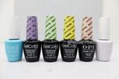 OPI Soak-Off GelColor The PASTELS COLLECTION Kit Spring Summer Color 2014 0.5oz 15ml