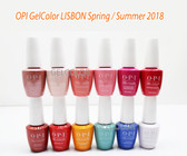 OPI Soak-Off GelColor LISBON COLLECTION Kit Gel Polish Color Spring Summer 2018 15ml 0.5oz