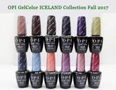 OPI Soak-Off GelColor ICELAND COLLECTION Kit Gel Polish Color Fall Winter 2017 0.5oz 15ml