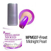 LeChat Perfect Match MOOD MPMG07 MIDNIGHT PEARL Color Changing UV LED Gel Polish