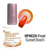 LeChat Perfect Match MOOD MPMG08 SUNSET BEACH Color Changing UV LED Gel Polish